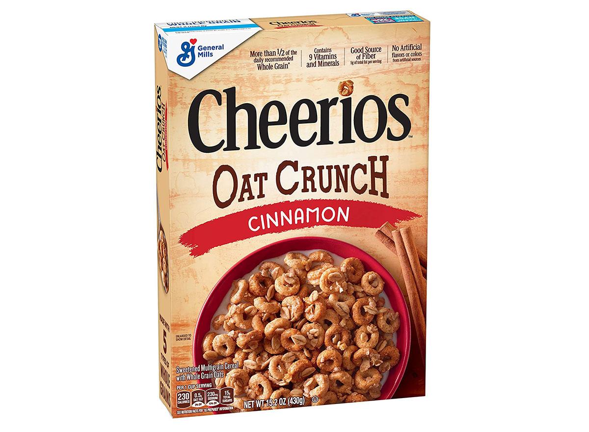 general mills cheerios oat crunch cinnamon