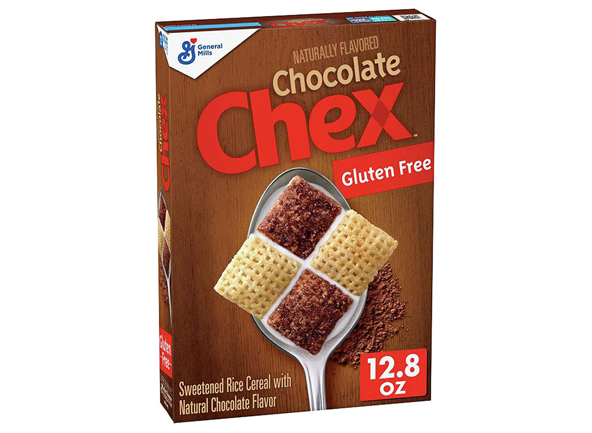 general mills chocolate chex