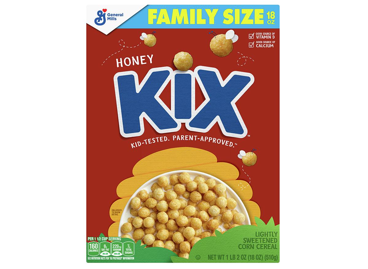 general mills honey kix