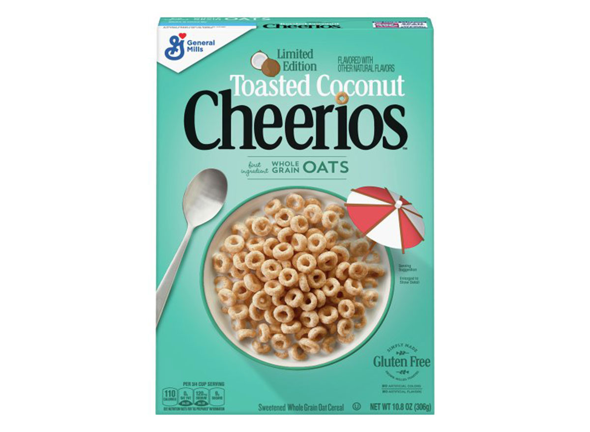 general mills toasted coconut cheerios