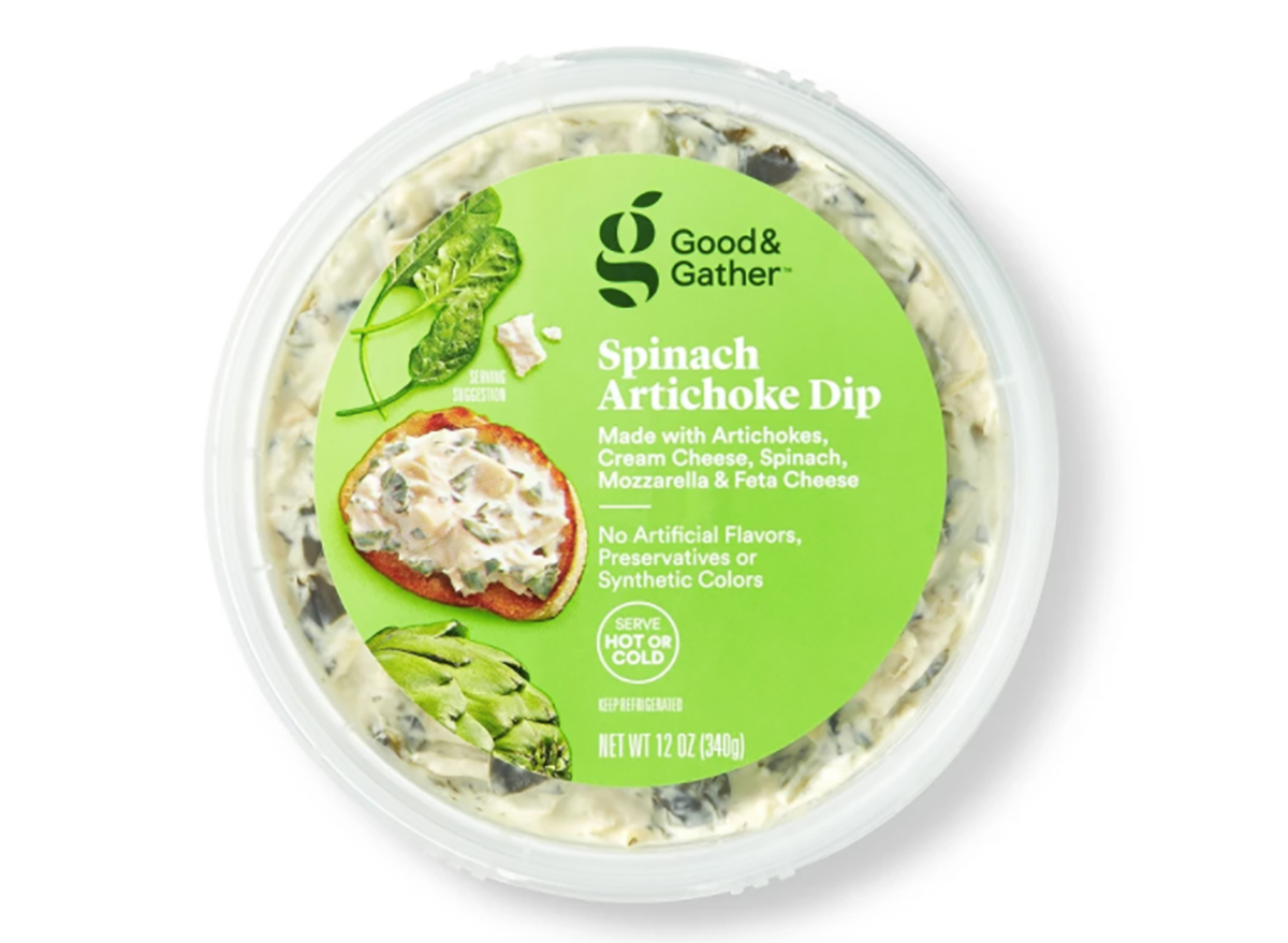 good and gather spinach artichoke dip