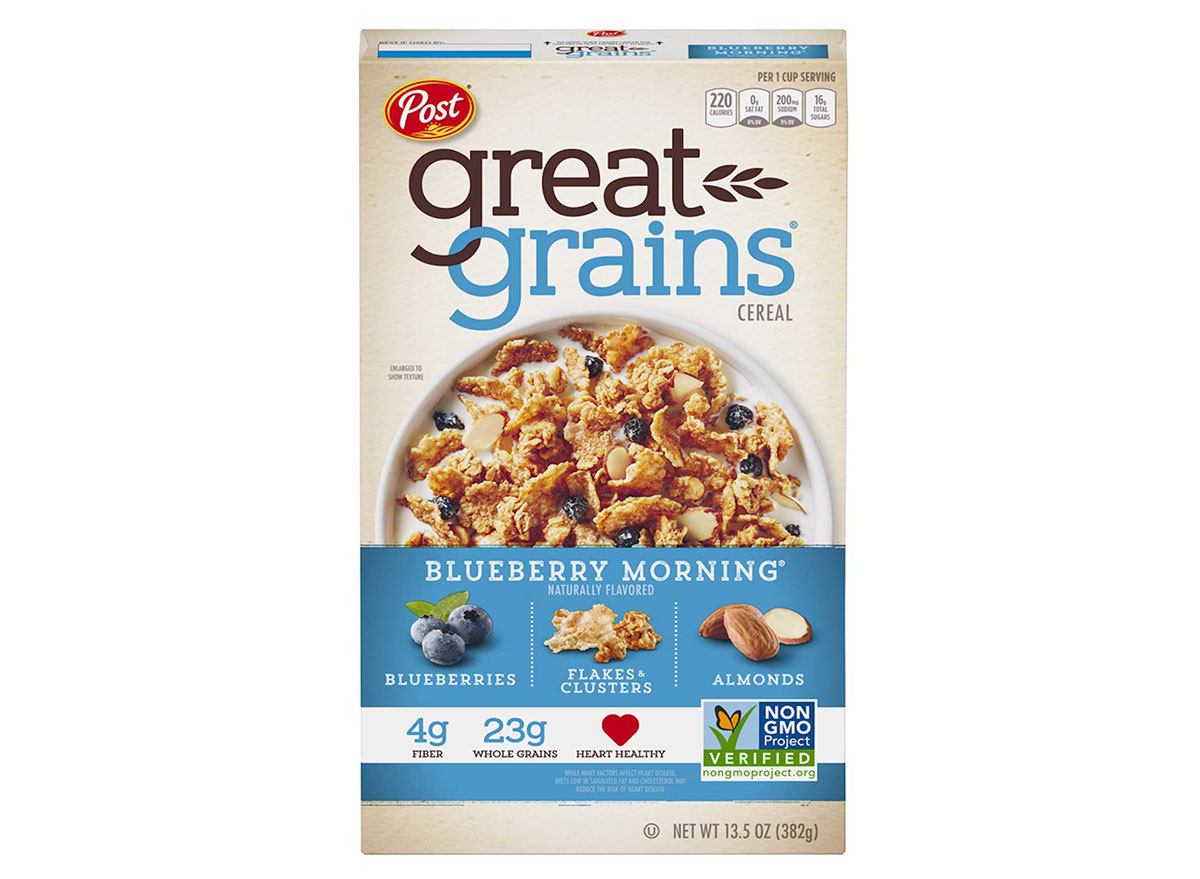 great grains blueberry morning