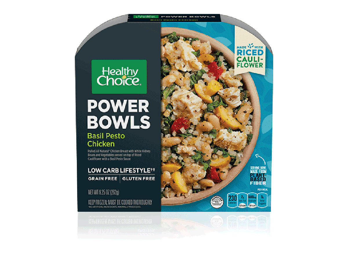 healthy choice chicken power bowl