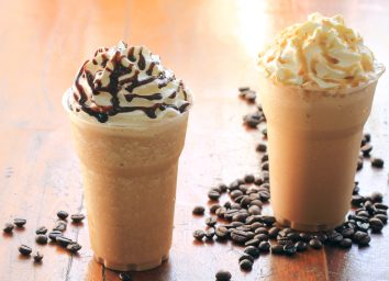 iced blended coffee drink