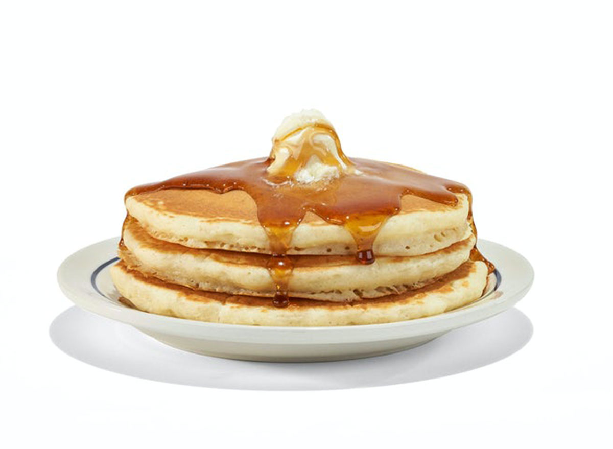 ihop short pancakes