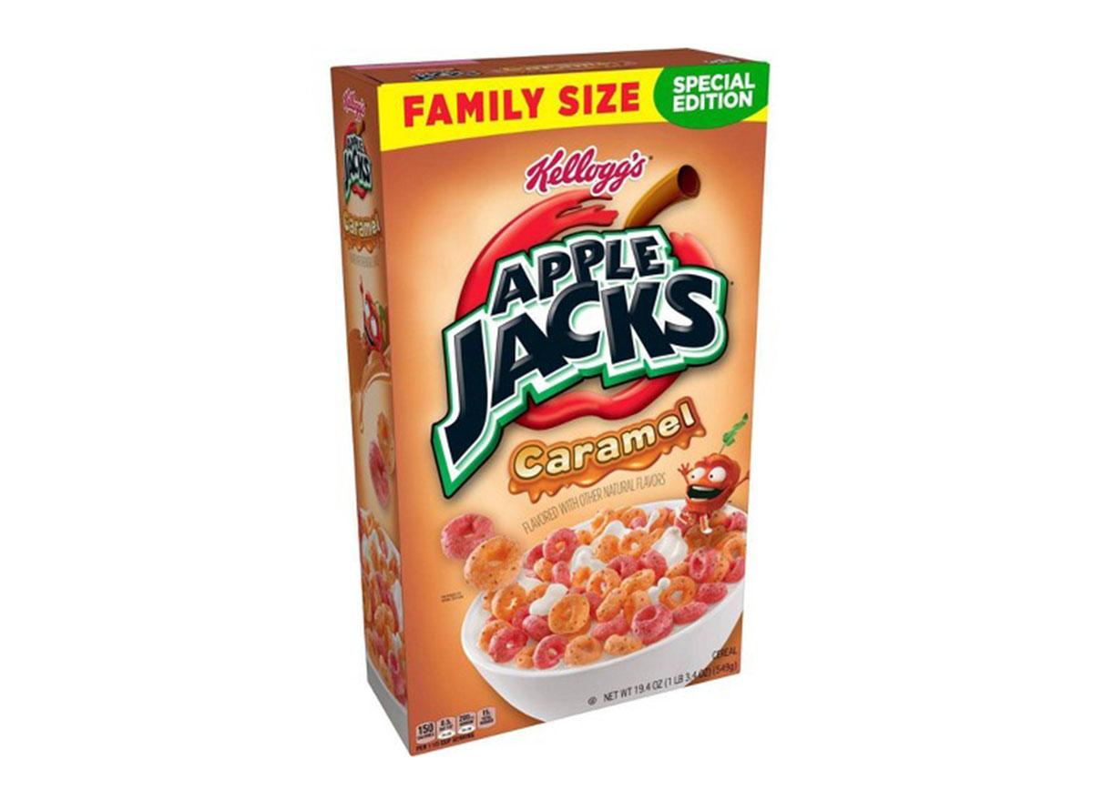 kelloggs apple jacks caramel