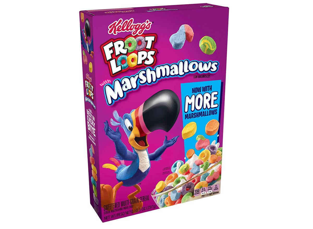 kelloggs froot loops marshmallows