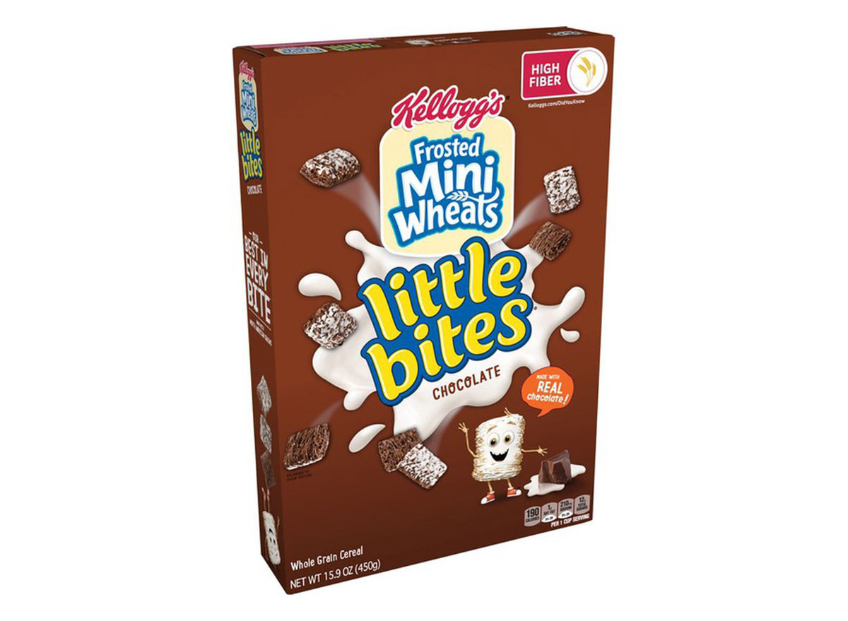 kelloggs frosted mini-wheats little bites chocolate