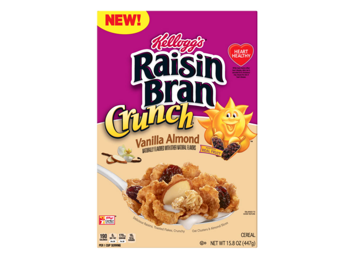 kelloggs raisin bran crunch