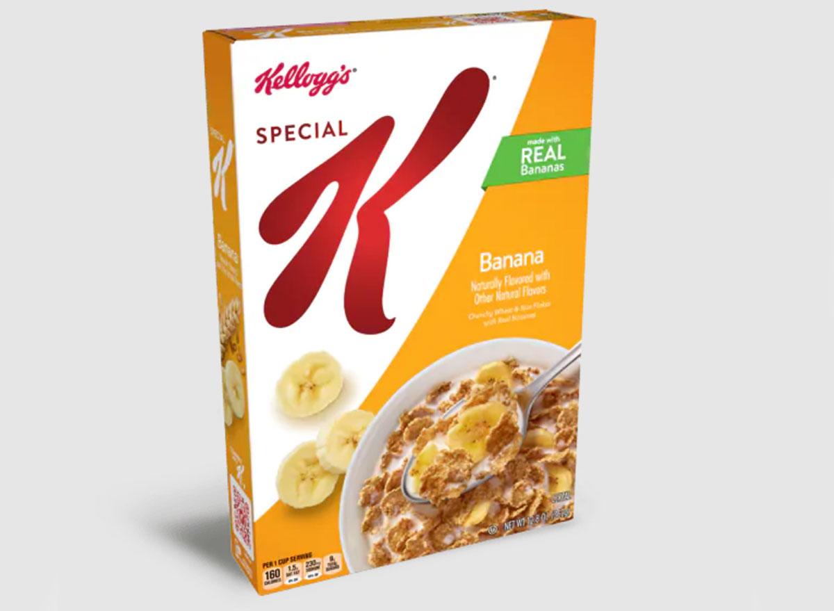 kelloggs special k banana