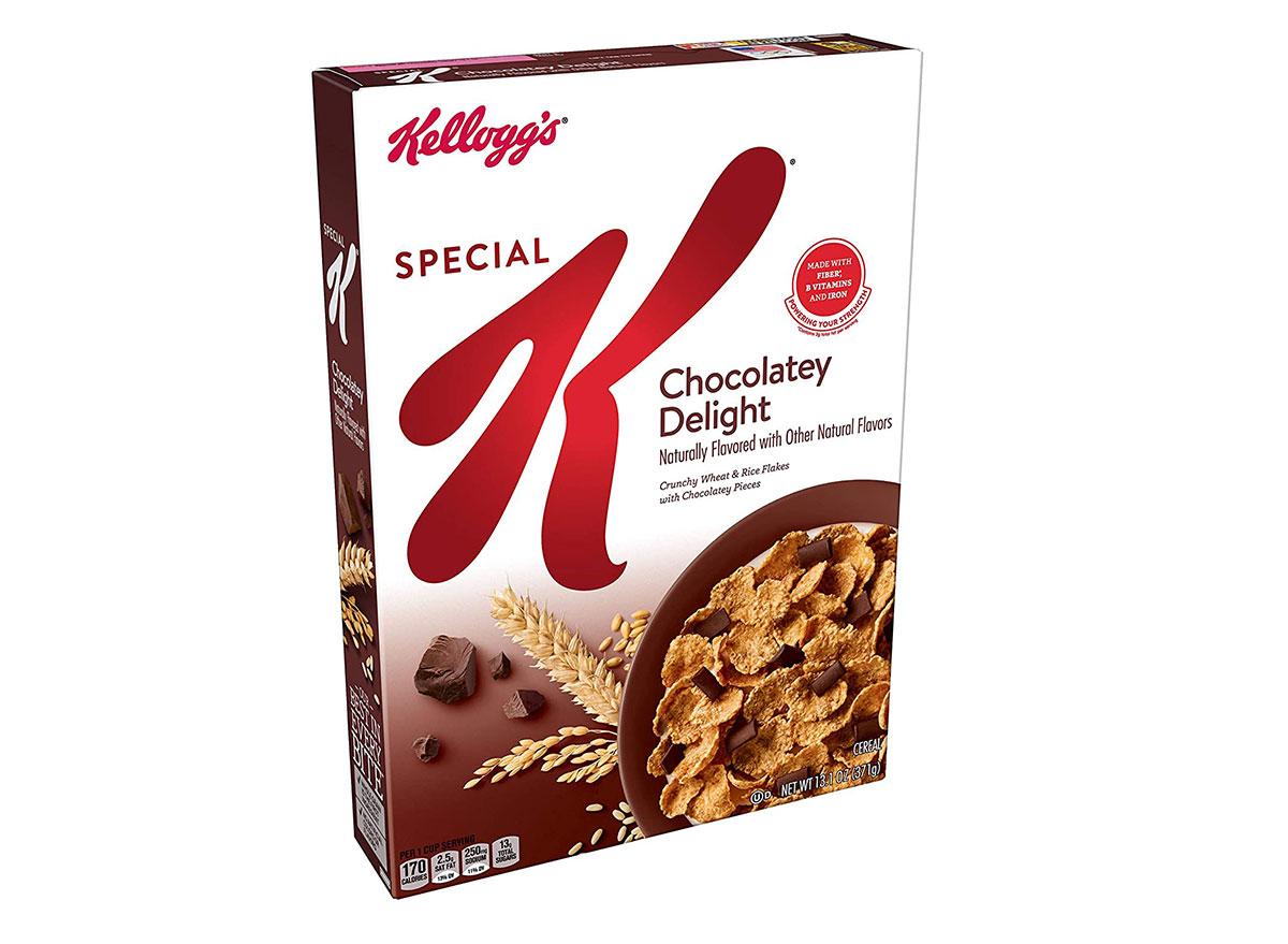 kelloggs special k chocolatey delight