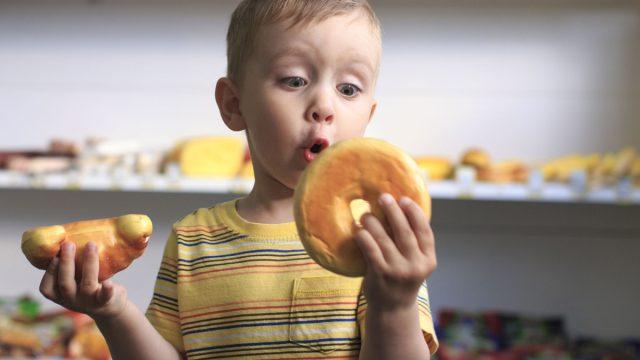 Kid junk food