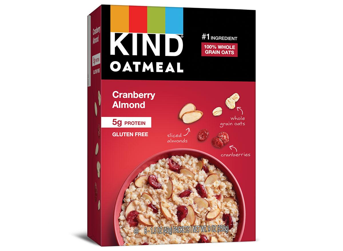 kind oatmeal cranberry almond