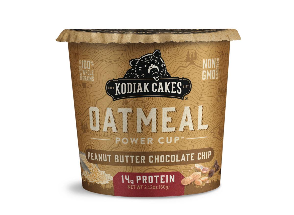 kodiak cakes peanut butter chocolate chip oatmeal