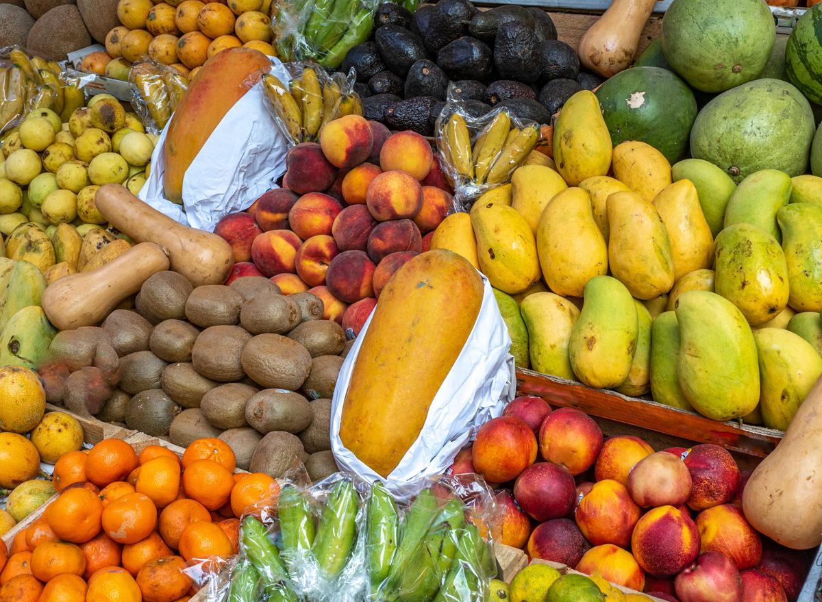 mangos, avocados, produce