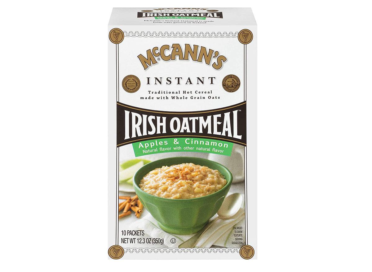 mccans apples cinnamon irish oatmeal
