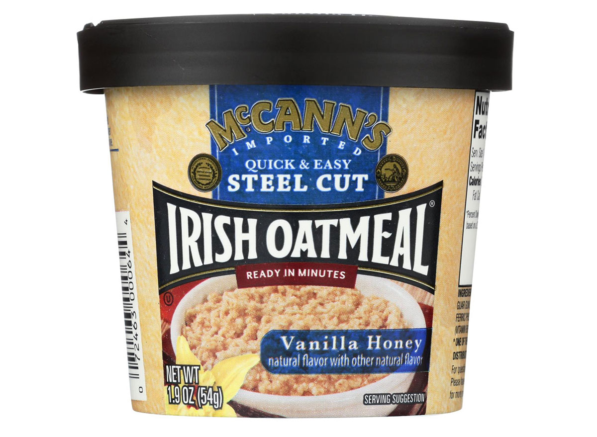 mccans vanila honey irish oatmeal