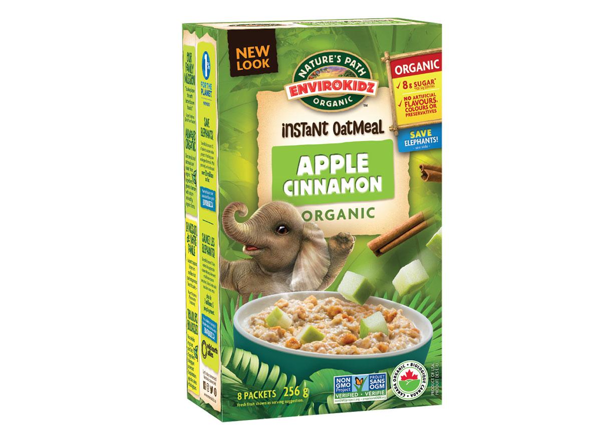 natures path envirokidz apple cinnamon oatmeal