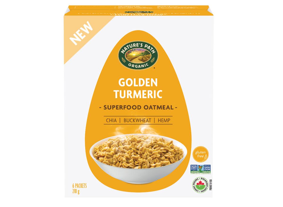 natures path golden turmeric oatmeal
