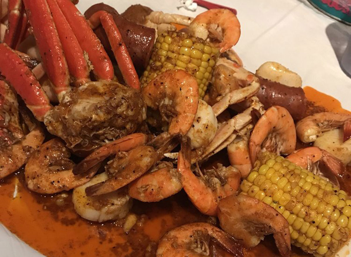 new mexico crackin crab seafood boil