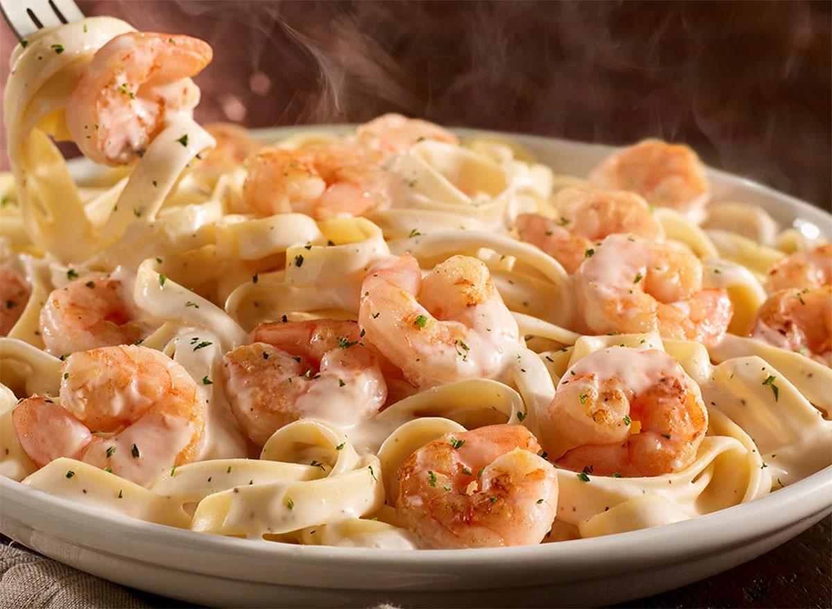 olive garden shrimp alfredo
