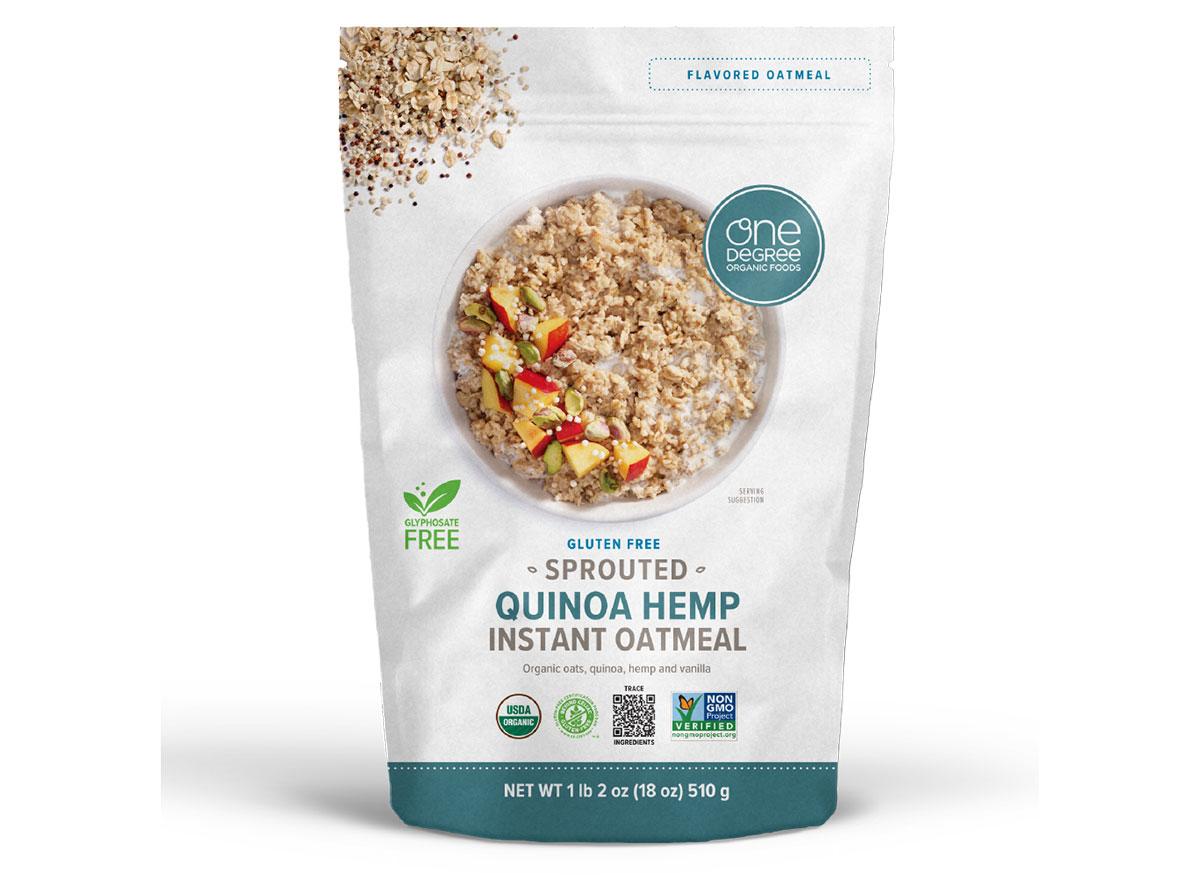 one degree quinoa hemp oatmeal