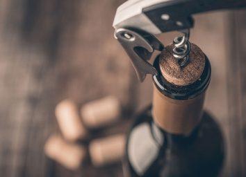 opening wine