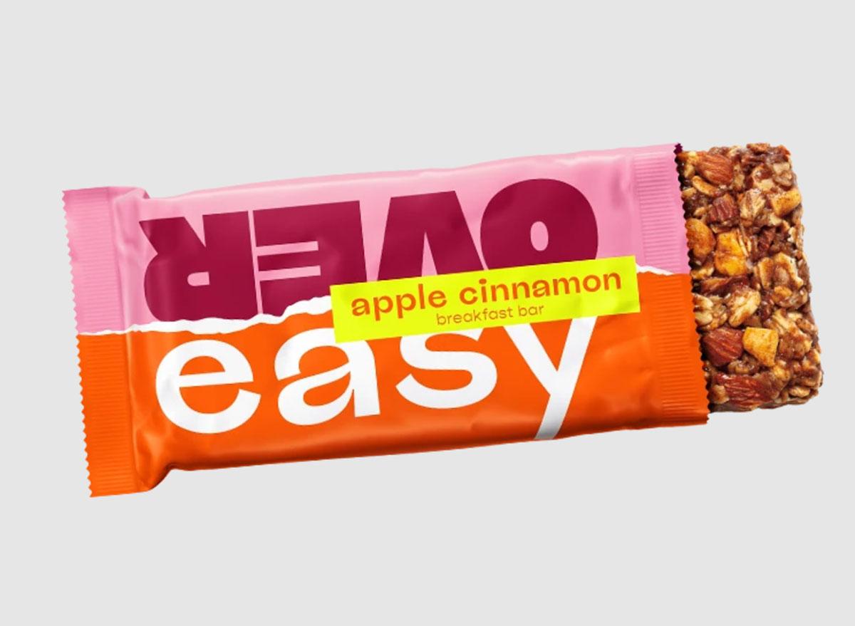 over easy apple cinnamon breakfast bar