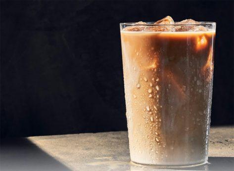 panera iced caffe latte