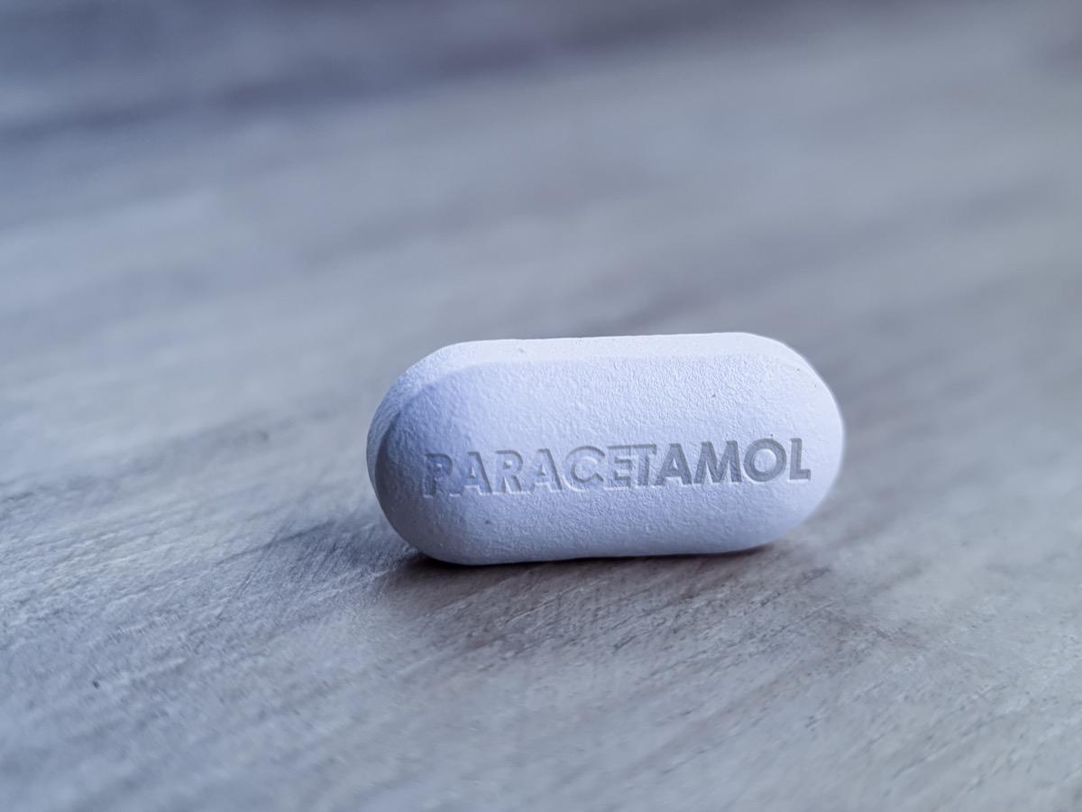 Paracetamol pill