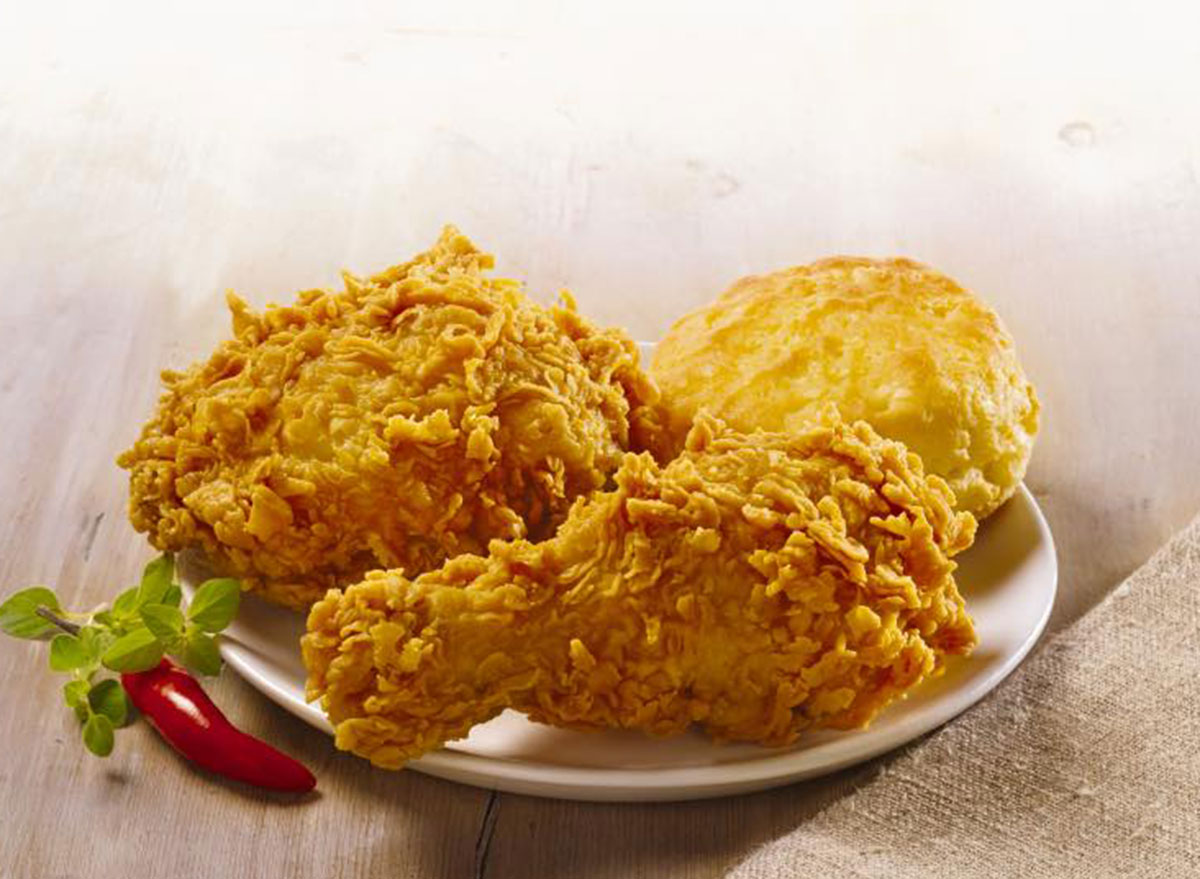 popeyes chicken meal