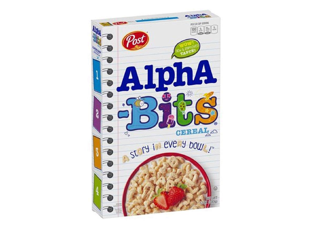 post alpha bits