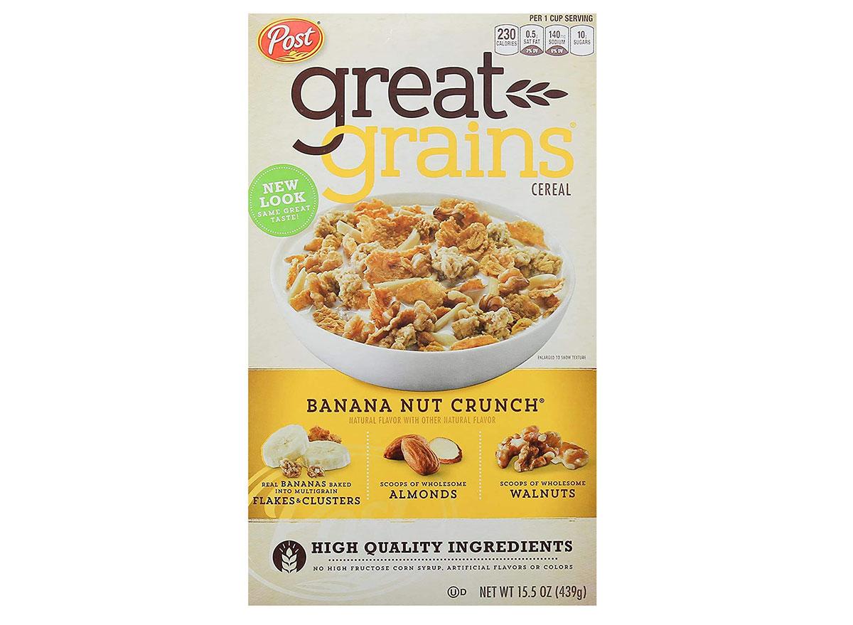 post great grains banana nut crunch