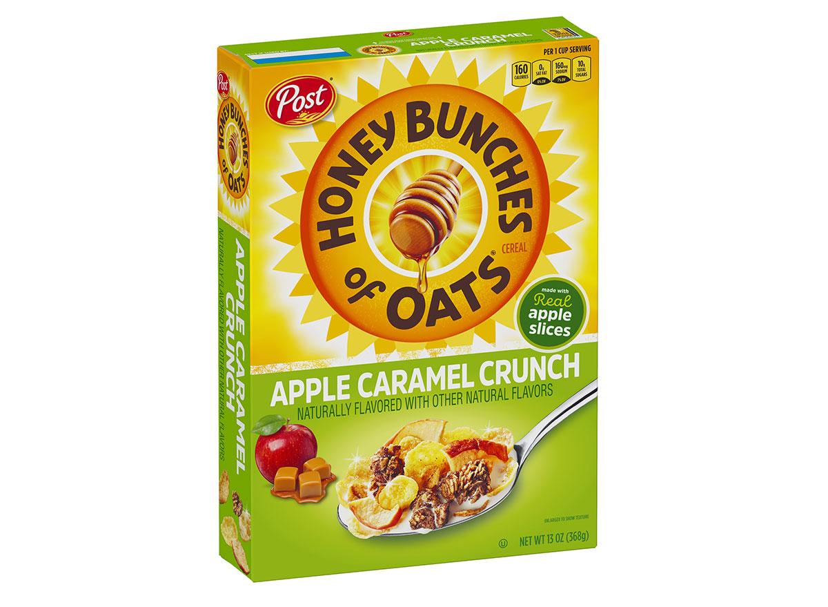 post honey bunches oats apple caramel crunch