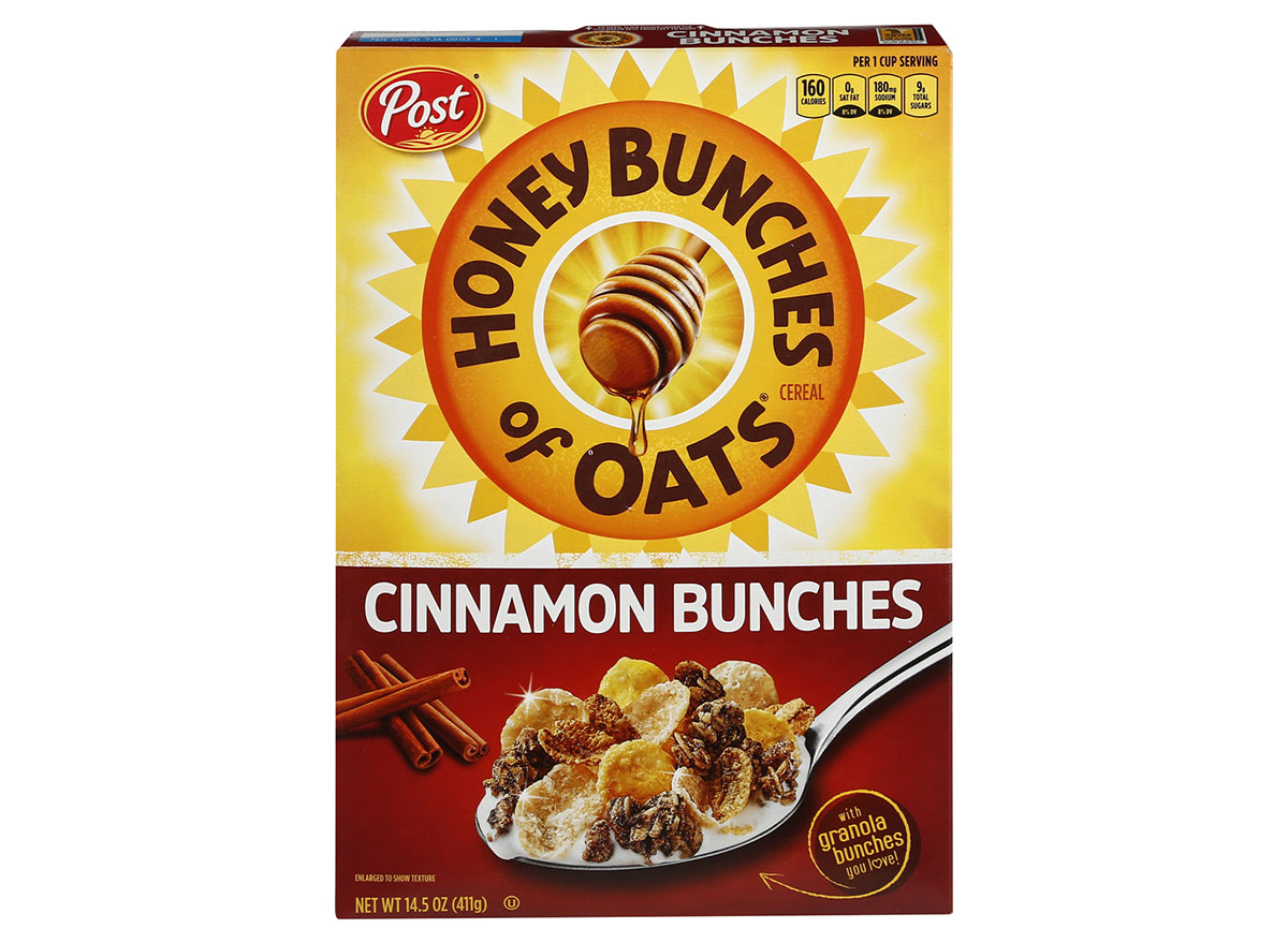 post honey bunches oats cinnamon bunches