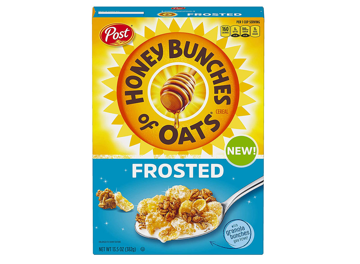 post honey bunches oats frosted