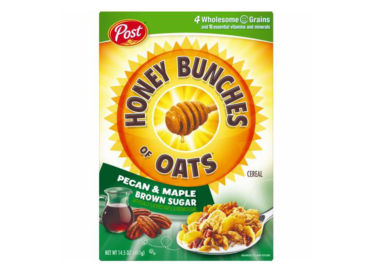 post honey bunches oats pecan maple brown sugar