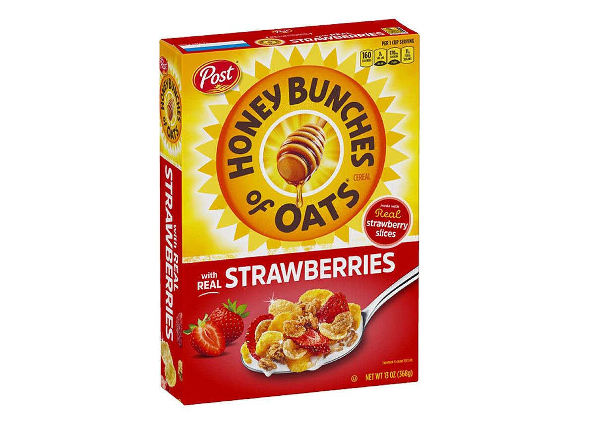 post honey bunches oats strawverries