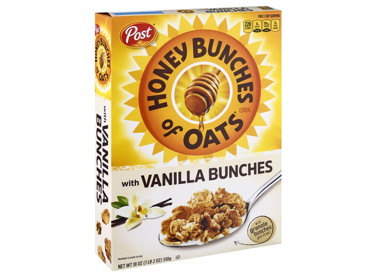 post honey bunches oats vanilla bunches