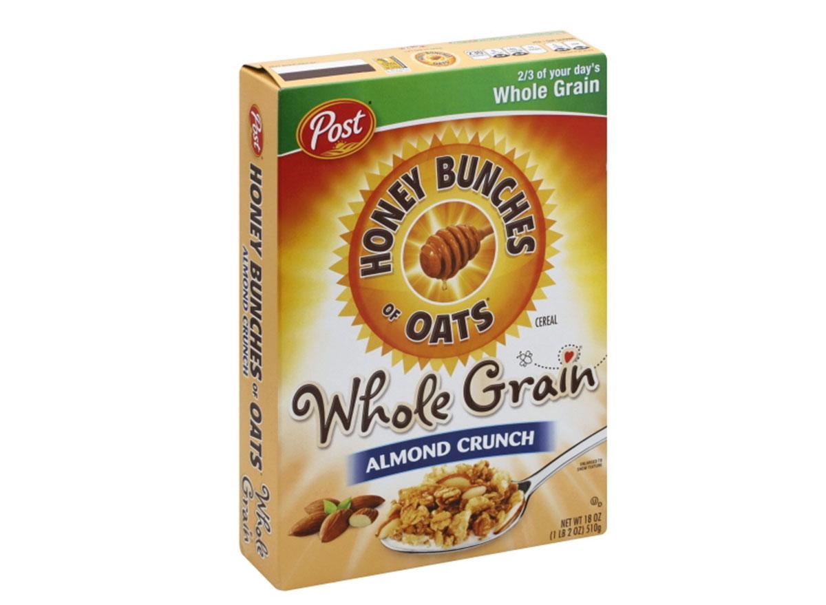 post honey bunches oats whole grain almond crunch