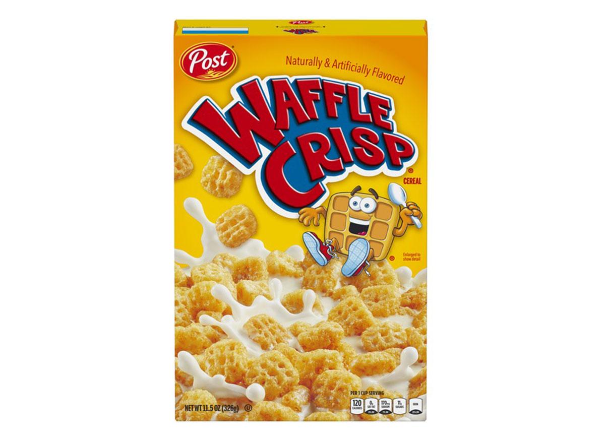 post waffle crisp