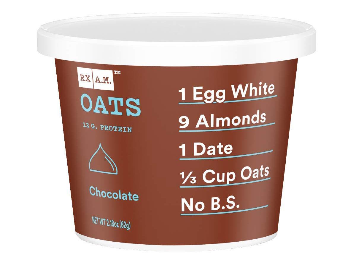 rx chocolate oatmeal cups
