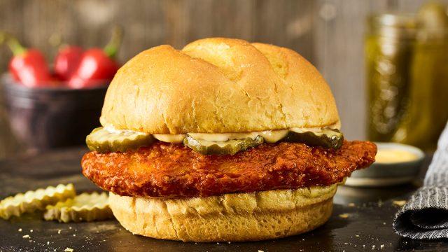 smashburger scorchin hot sandwich