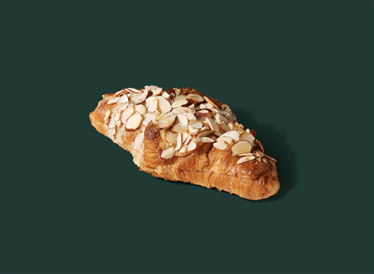 starbucks almond croissant