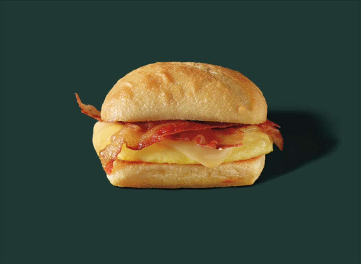 starbucks bacon gouda egg sandwich