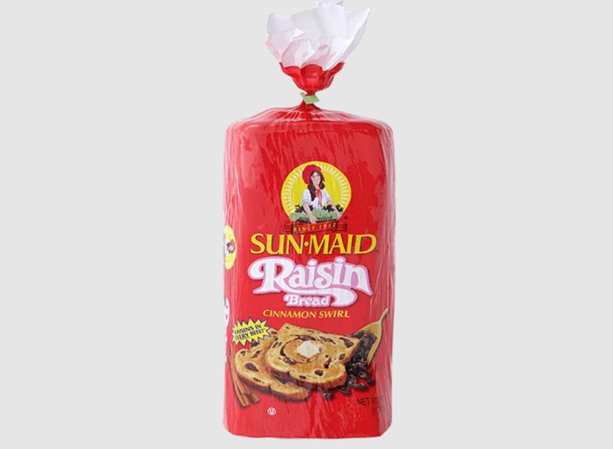sun maid raisin bread