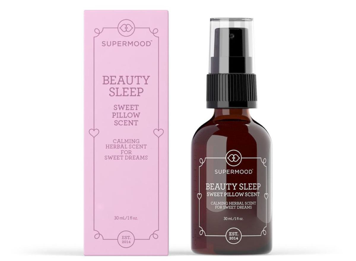 supermood beauty sleep pillow scent