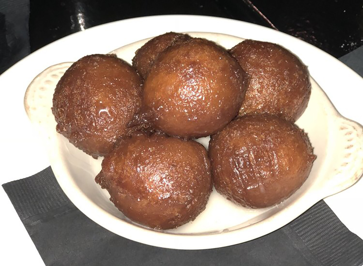sweet potato donut balls