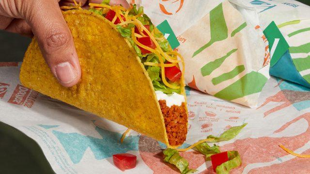 taco bell plant based taco