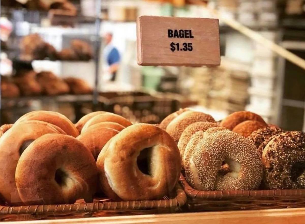 bagels from wheatfields bakery